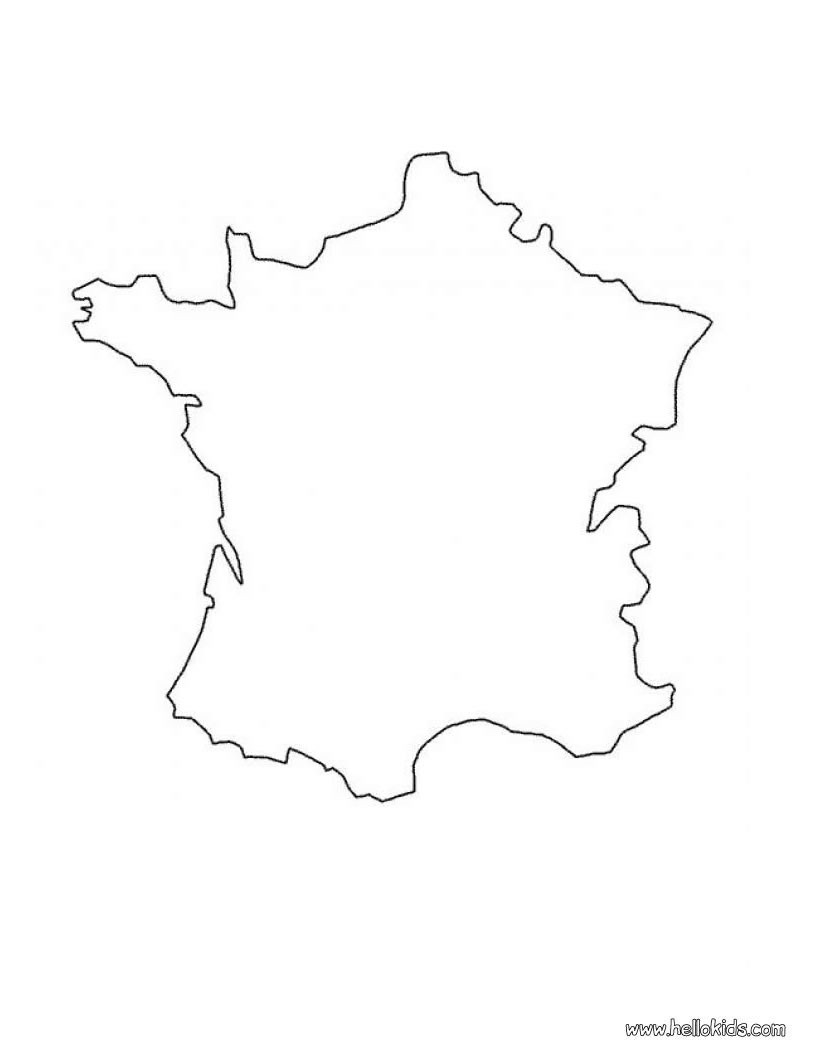 france map coloring page france printable blank administrative district royalty map page coloring france