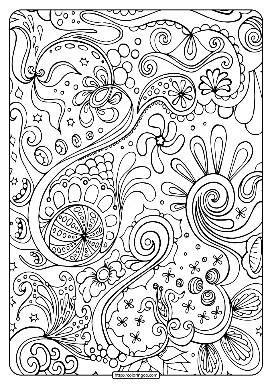 free abstract coloring pages abstract doodle coloring page free printable coloring pages abstract free coloring pages