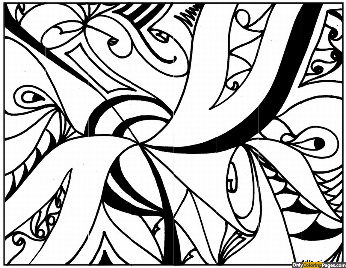 free abstract coloring pages complex abstract coloring page free printable online abstract free pages coloring