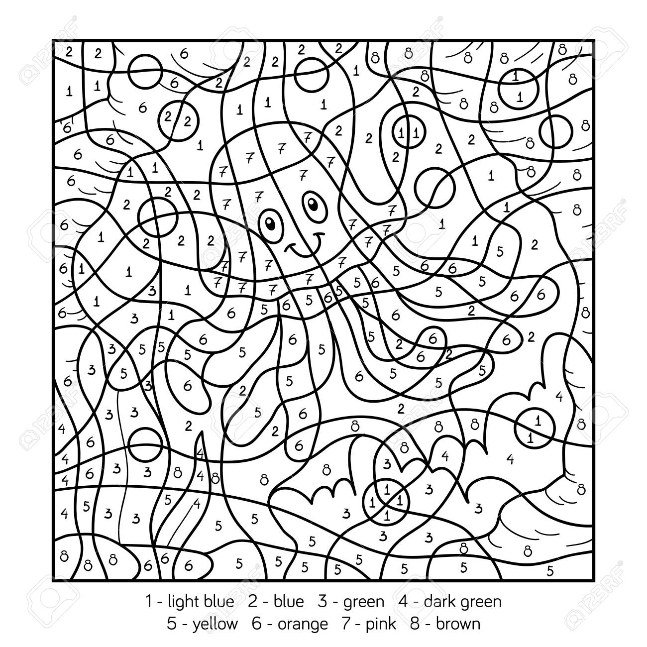 free color by number free color by number pictures activities free preschool free number by color
