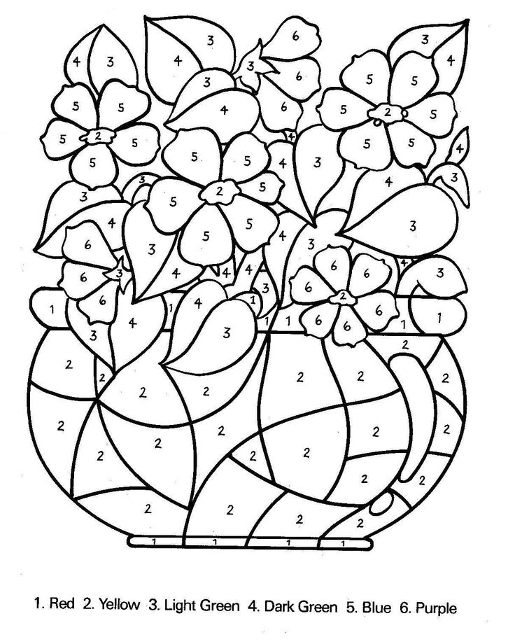 free color by number free printable color by number coloring pages best free by color number