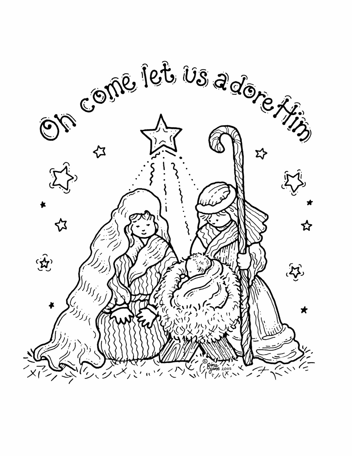 free coloring christmas cards free printable nativity coloring pages for kids best cards coloring free christmas