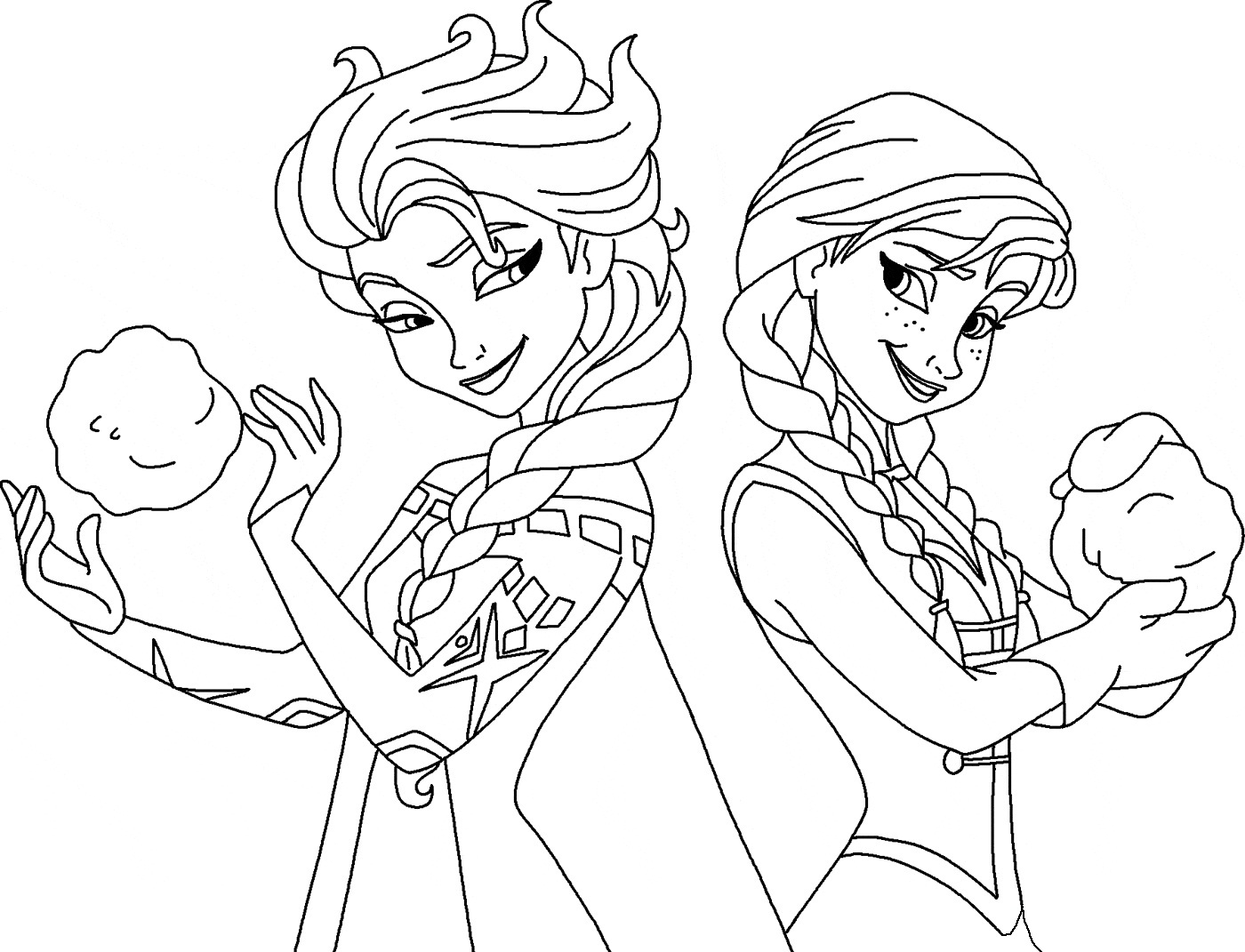 free coloring pages elsa and anna coloring pages elsa and anna frozen print a4 size for free anna coloring pages free and elsa