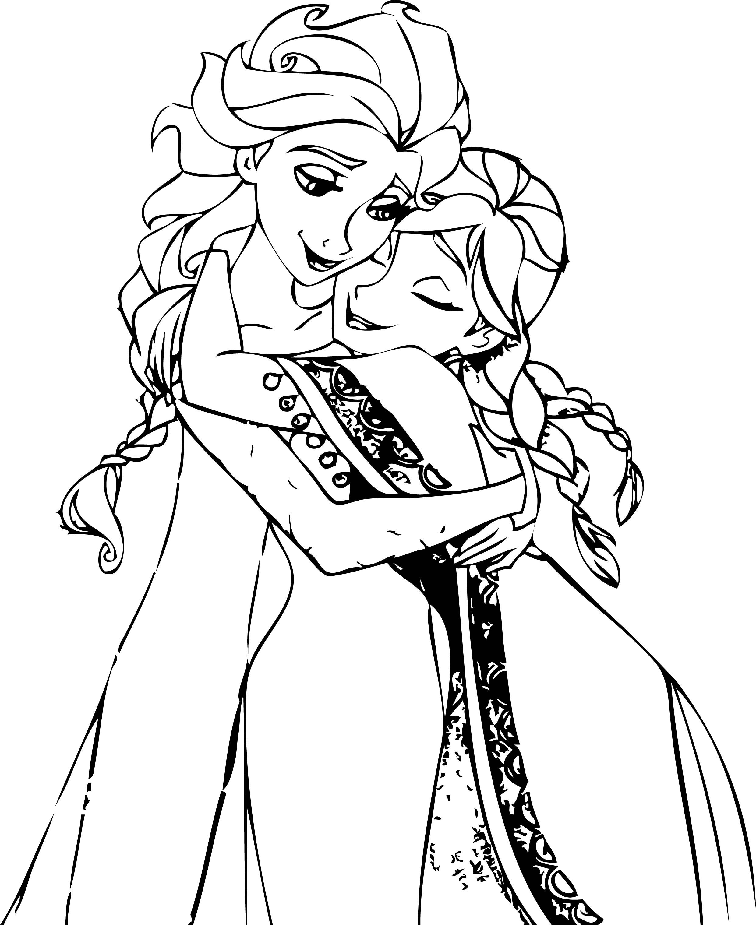 free coloring pages elsa and anna elsa and anna coloring pages coloring home free pages elsa coloring anna and