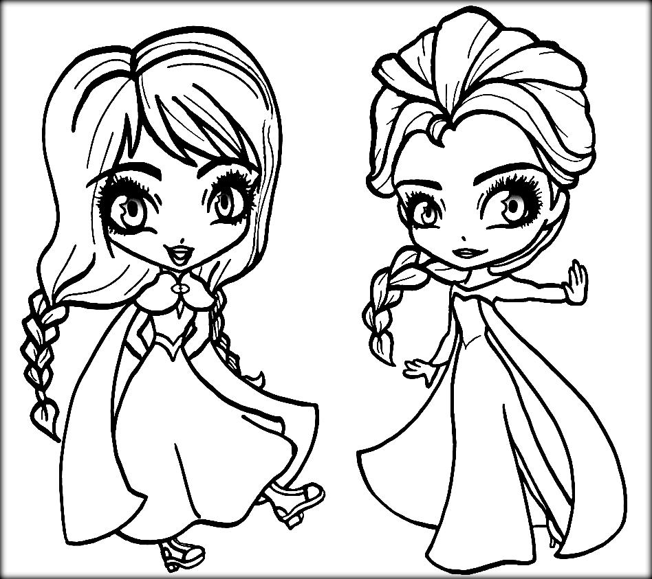 free coloring pages elsa and anna elsa and anna coloring pages the sun flower pages elsa coloring and anna pages free