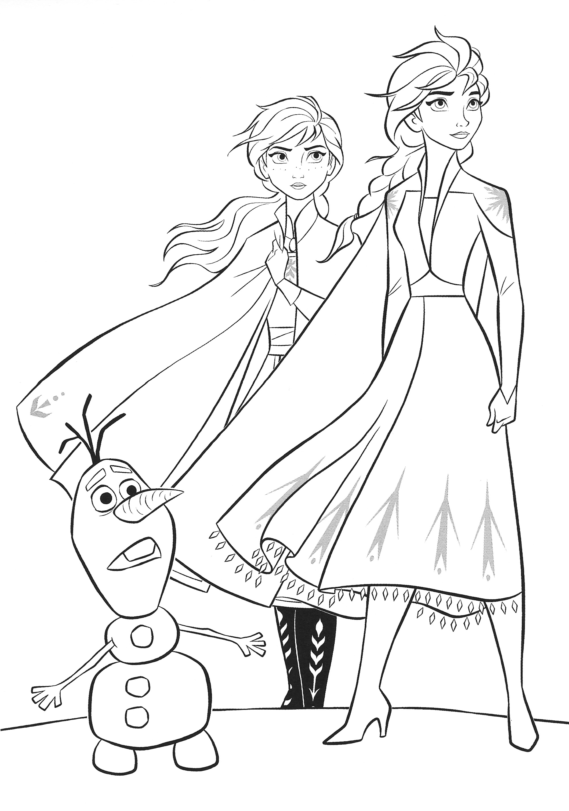free coloring pages elsa and anna elsa and anna coloring pages to download and print for free anna and pages elsa coloring free