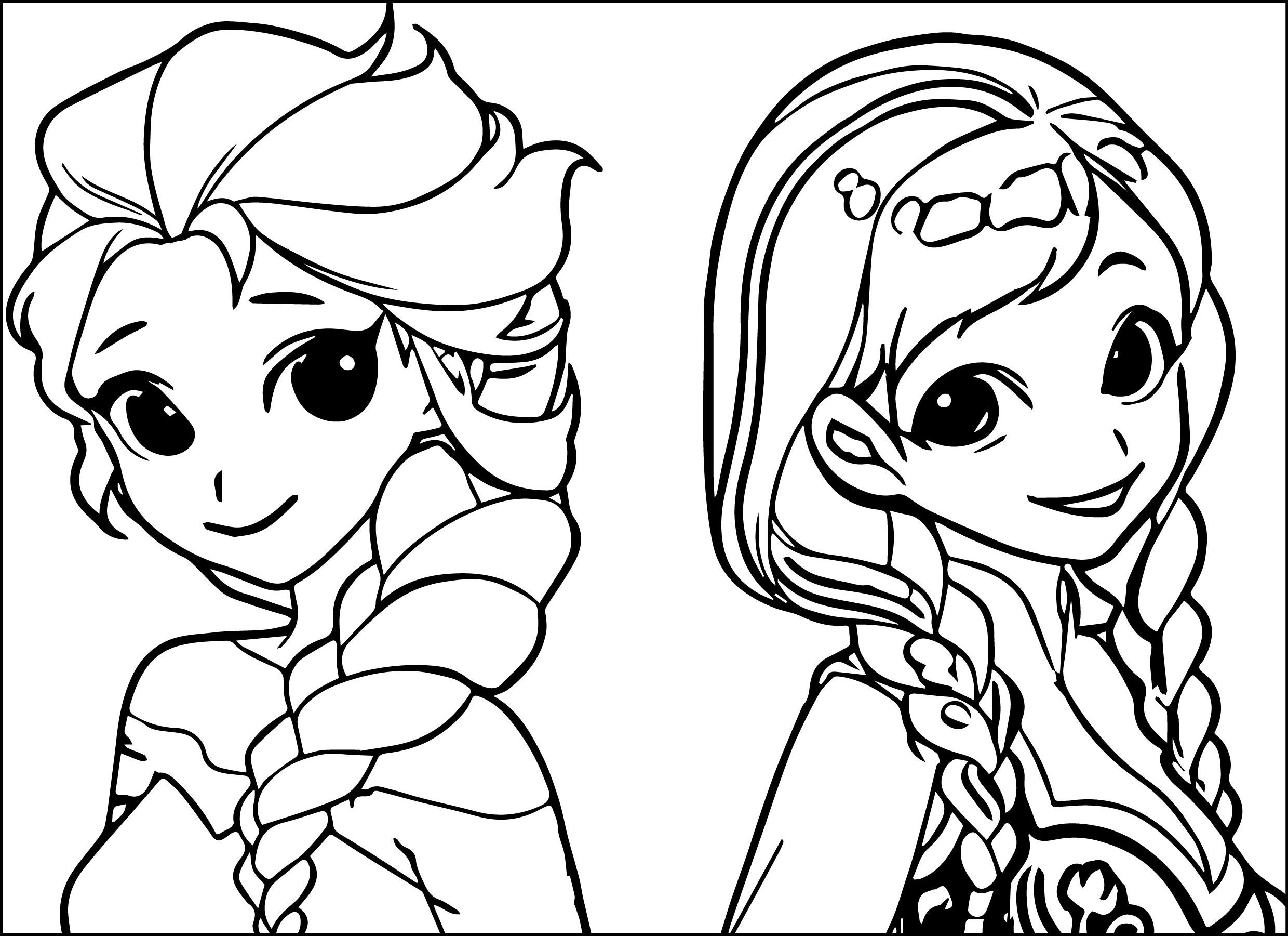 free coloring pages elsa and anna elsa anna coloring pages at getcoloringscom free elsa anna and pages coloring free