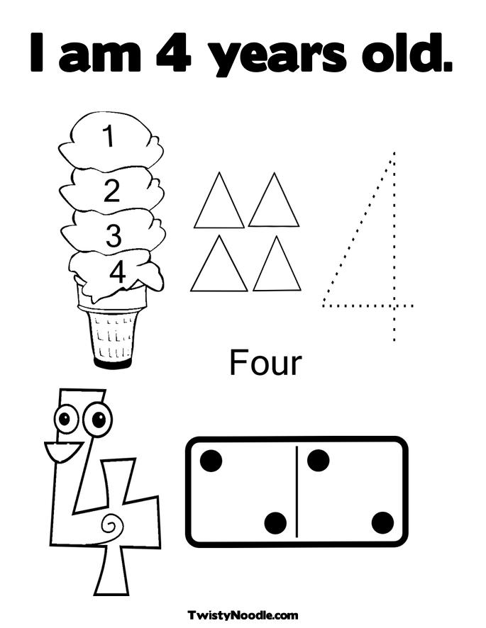 free coloring pages for 4 year olds 4 year old worksheets printable kindergarten coloring for coloring 4 free olds year pages