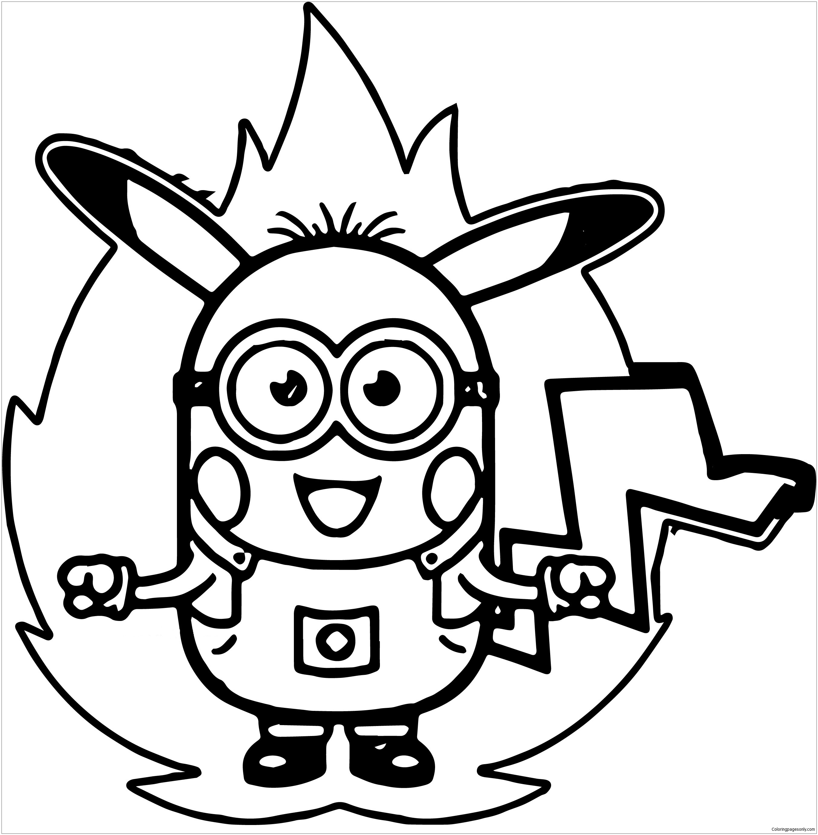 free coloring pages minions minion coloring pages free download on clipartmag minions pages coloring free