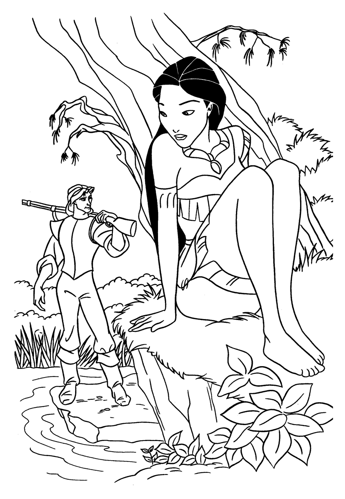 free coloring pages of disney characters disney characters coloring pages free download on clipartmag disney characters free coloring pages of