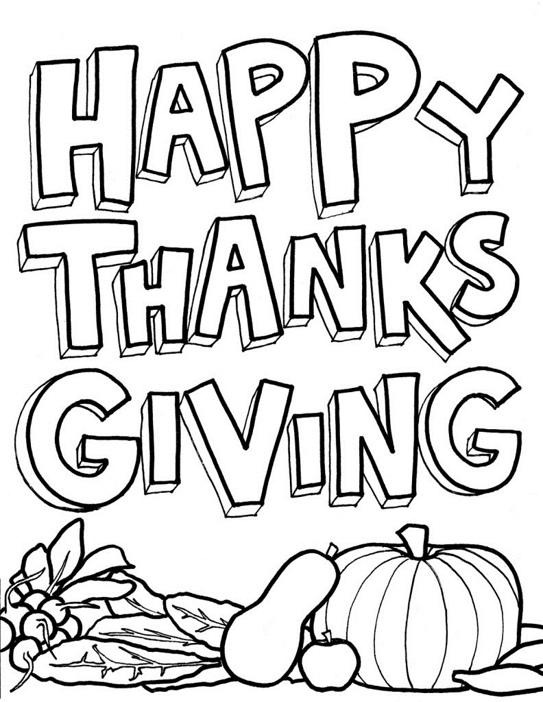 free coloring pages thanksgiving happy thanksgiving coloring pages to download and print thanksgiving pages free coloring