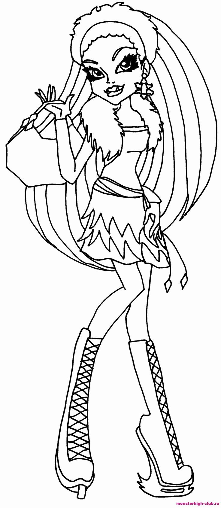 free colouring pages monster high 37 best images about colouring monster high on pinterest monster free colouring high pages