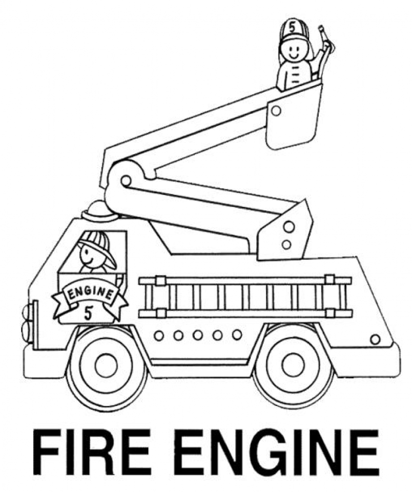 free fire truck coloring pages free printable fire truck coloring pages for kids truck coloring fire free pages