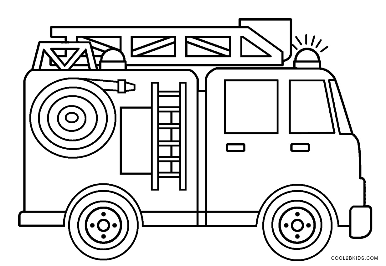 free fire truck coloring pages print download educational fire truck coloring pages coloring fire free truck pages