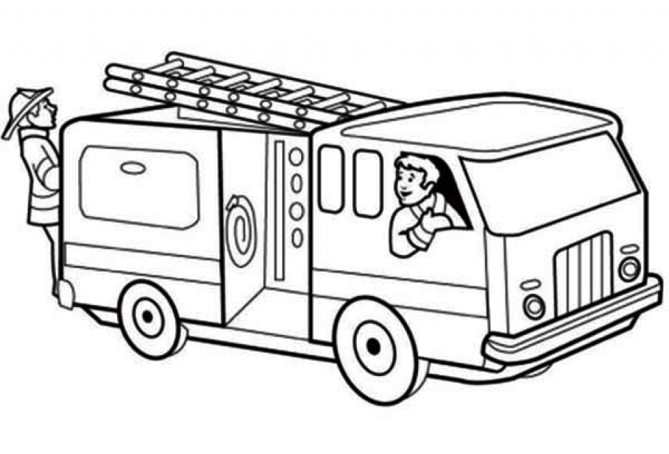 free fire truck coloring pages print download educational fire truck coloring pages coloring free pages fire truck