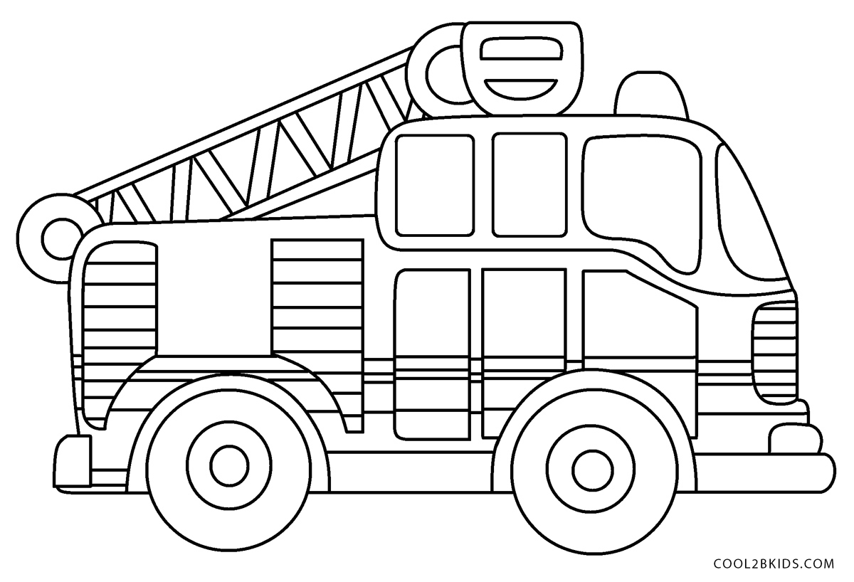 free fire truck coloring pages simple fire truck coloring pages at getcoloringscom coloring truck fire free pages