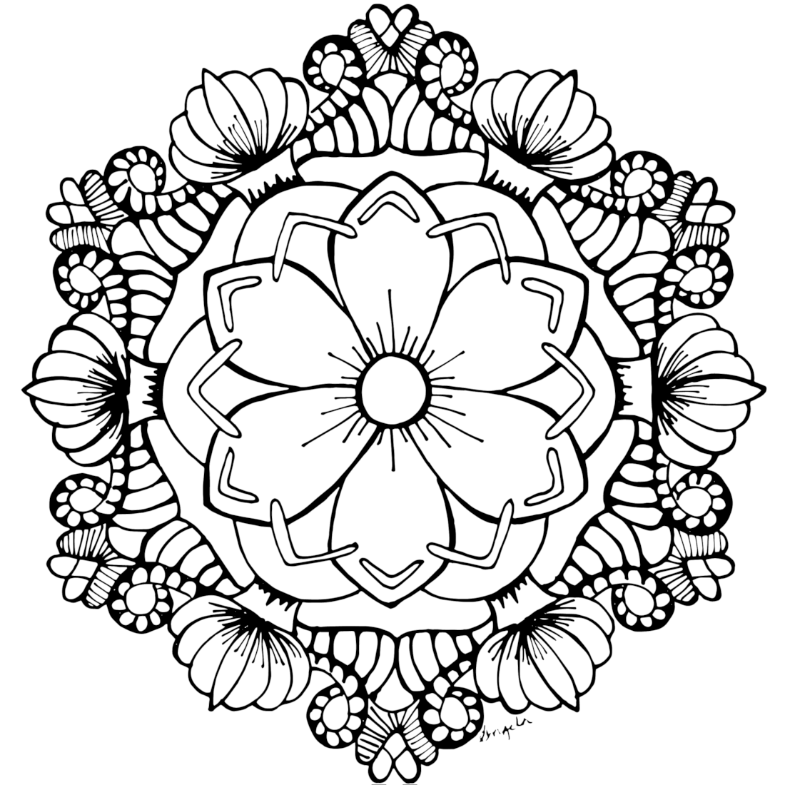 free flower coloring pages for adults very detailed flowers coloring pages for adults hard to adults pages flower coloring for free