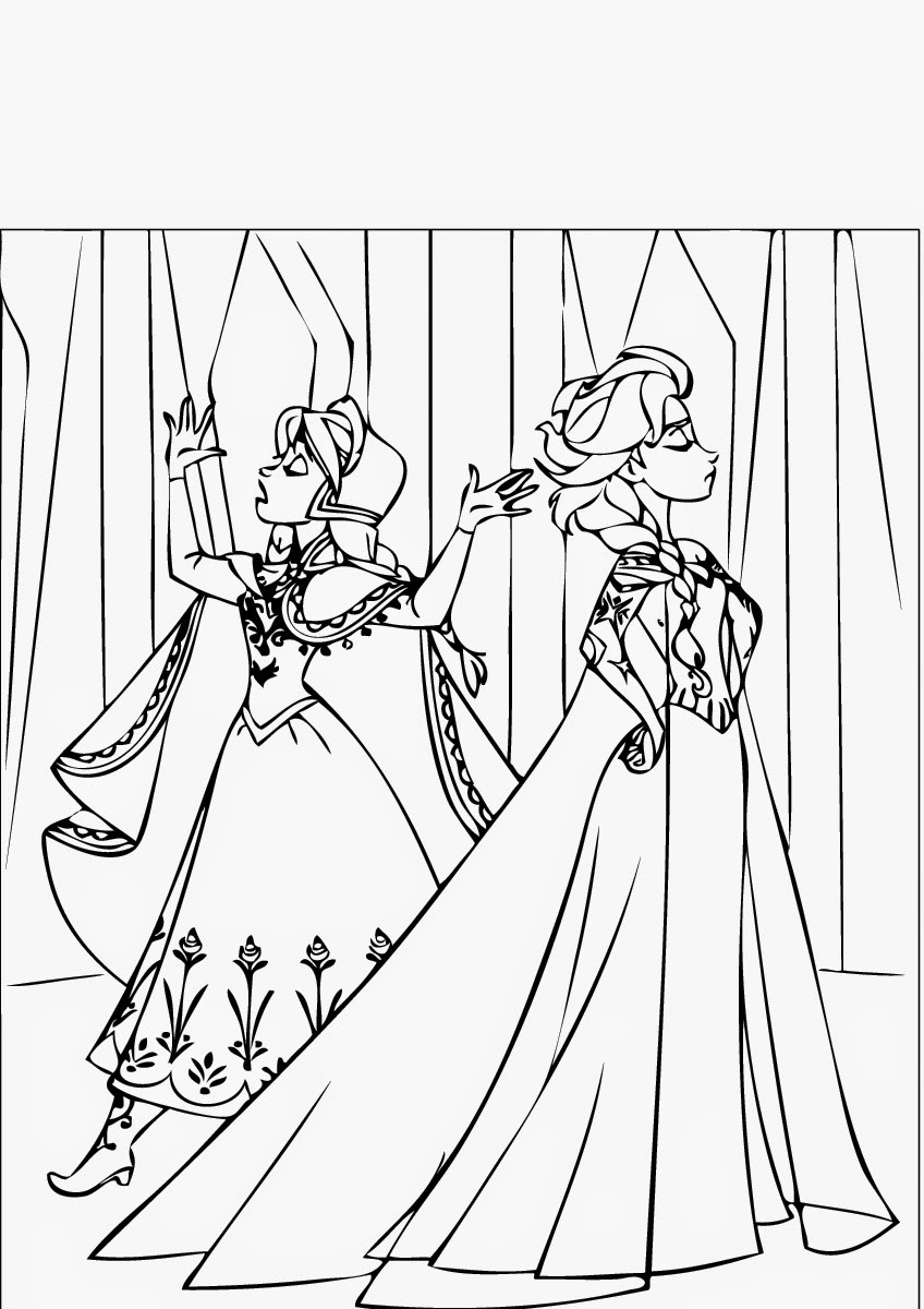 free frozen coloring pages frozen free to color for children frozen kids coloring pages coloring free frozen pages