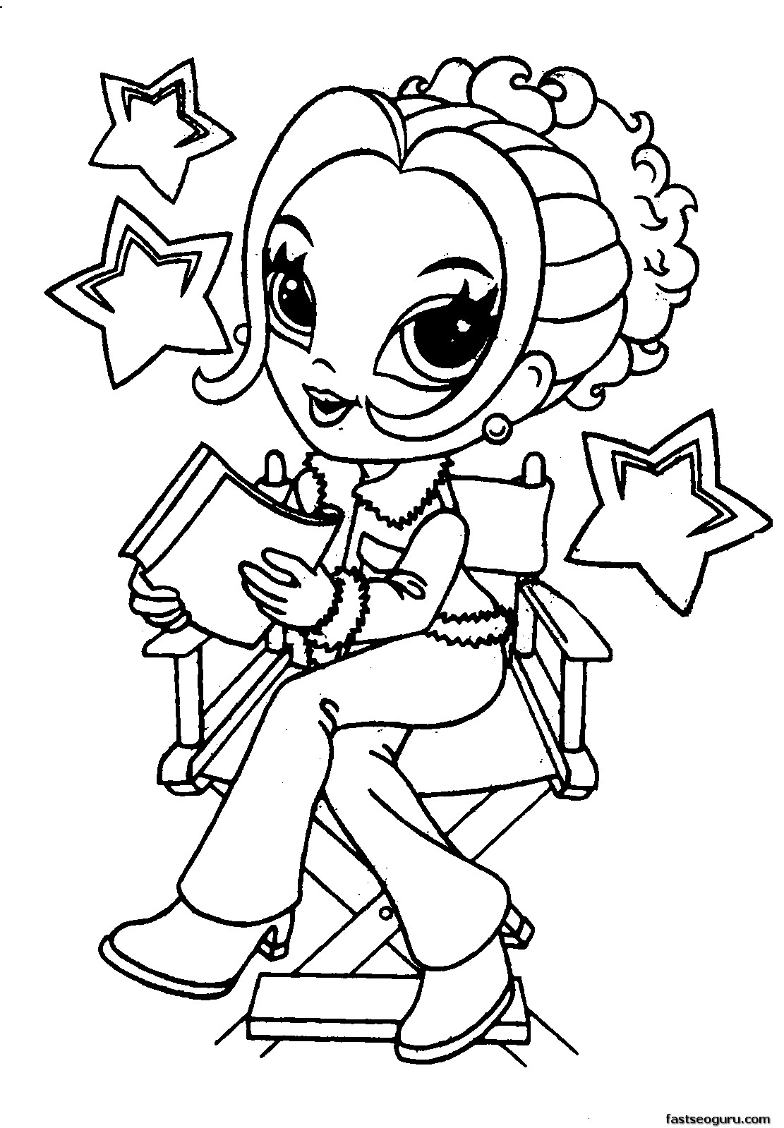 free girl coloring pages to print coloring pages for girls best coloring pages for kids girl print to pages free coloring