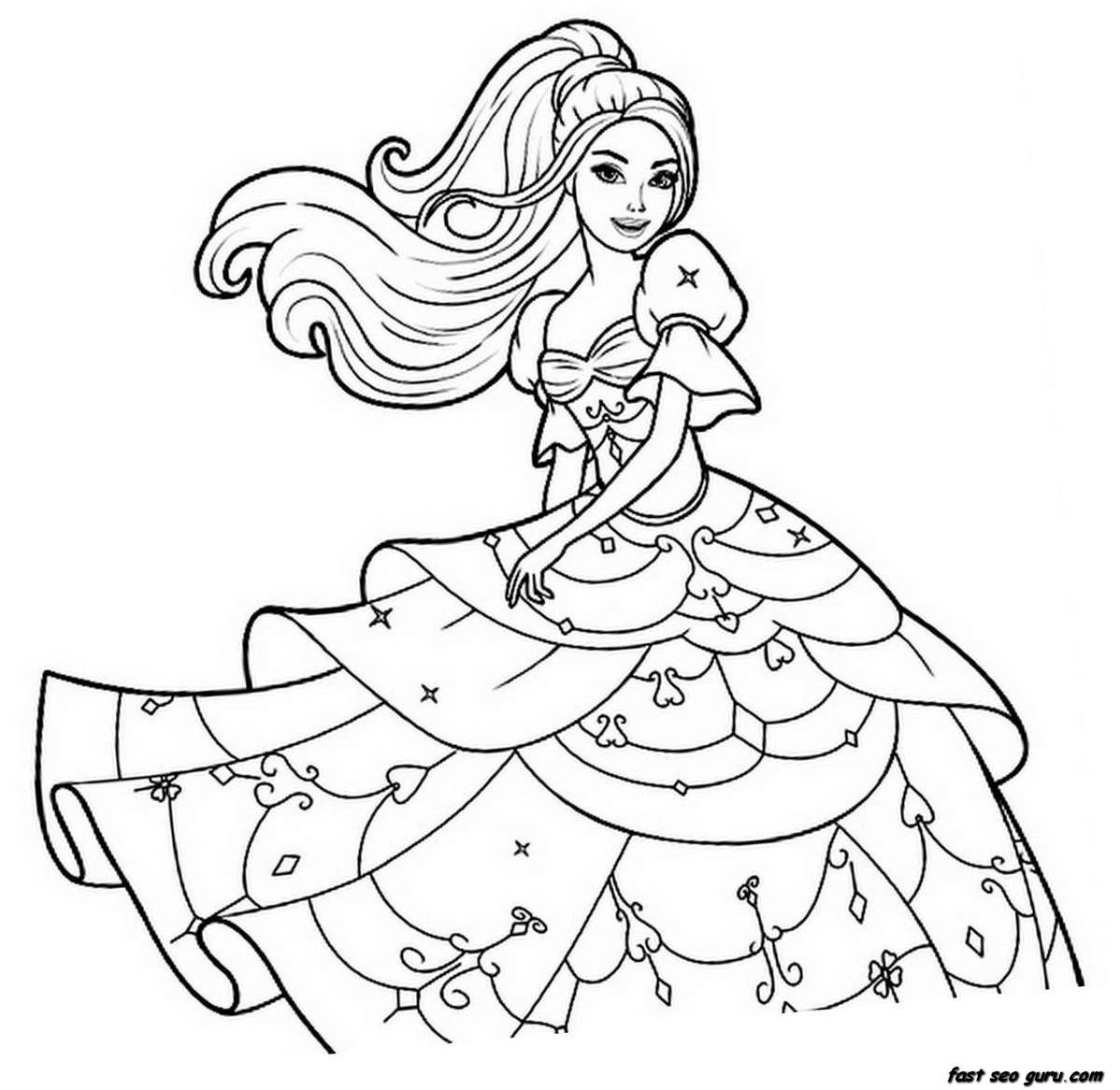 free girl coloring pages to print printable coloring pages for girls at getcoloringscom girl pages free print coloring to