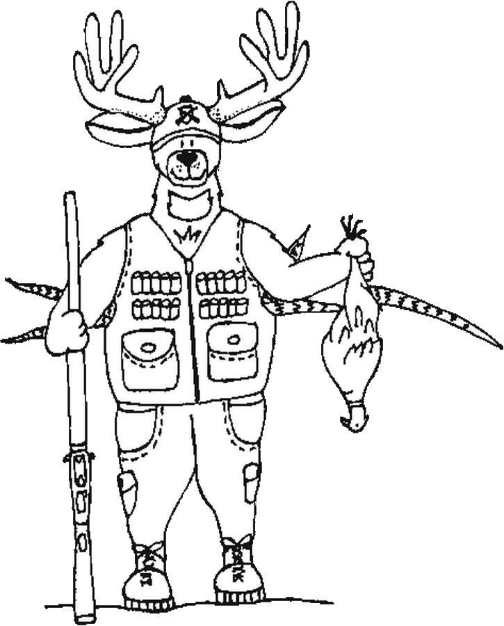 free hunting coloring pages deer hunting coloring pages at getcoloringscom free hunting coloring pages free