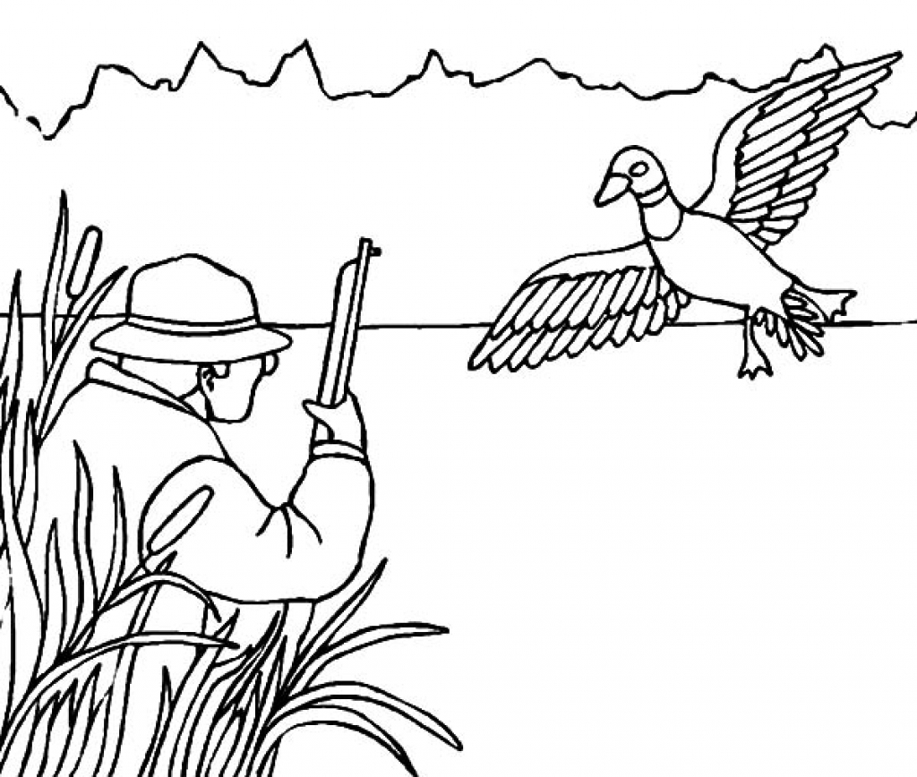 free hunting coloring pages deer hunting coloring pages at getcoloringscom free hunting free coloring pages