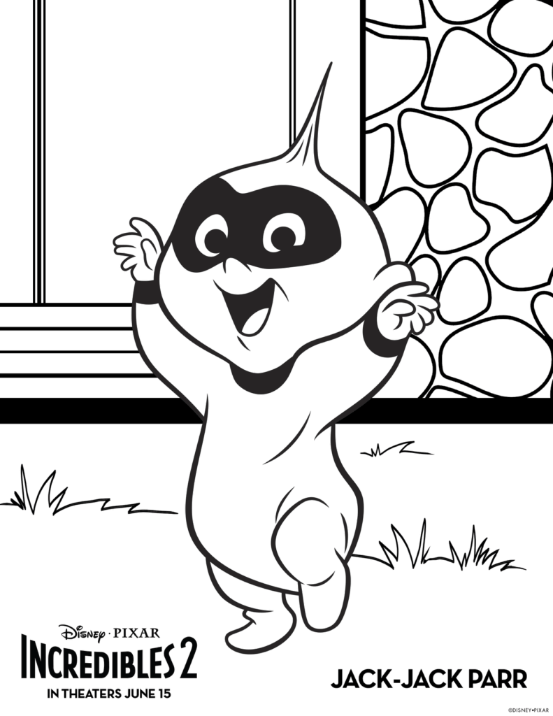 free incredibles 2 coloring pages incredibles 2 coloring pages boy and girl free printable free coloring pages incredibles 2