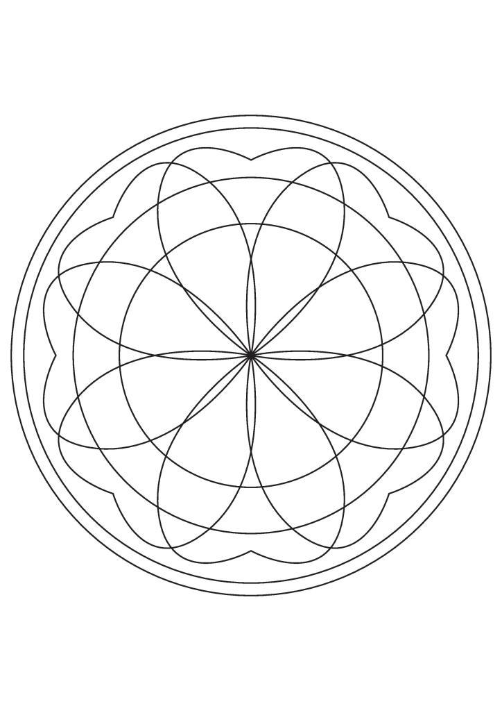 free mandalas to print and color mandala to color free to print 1 simple mandalas 100 to free print color mandalas and