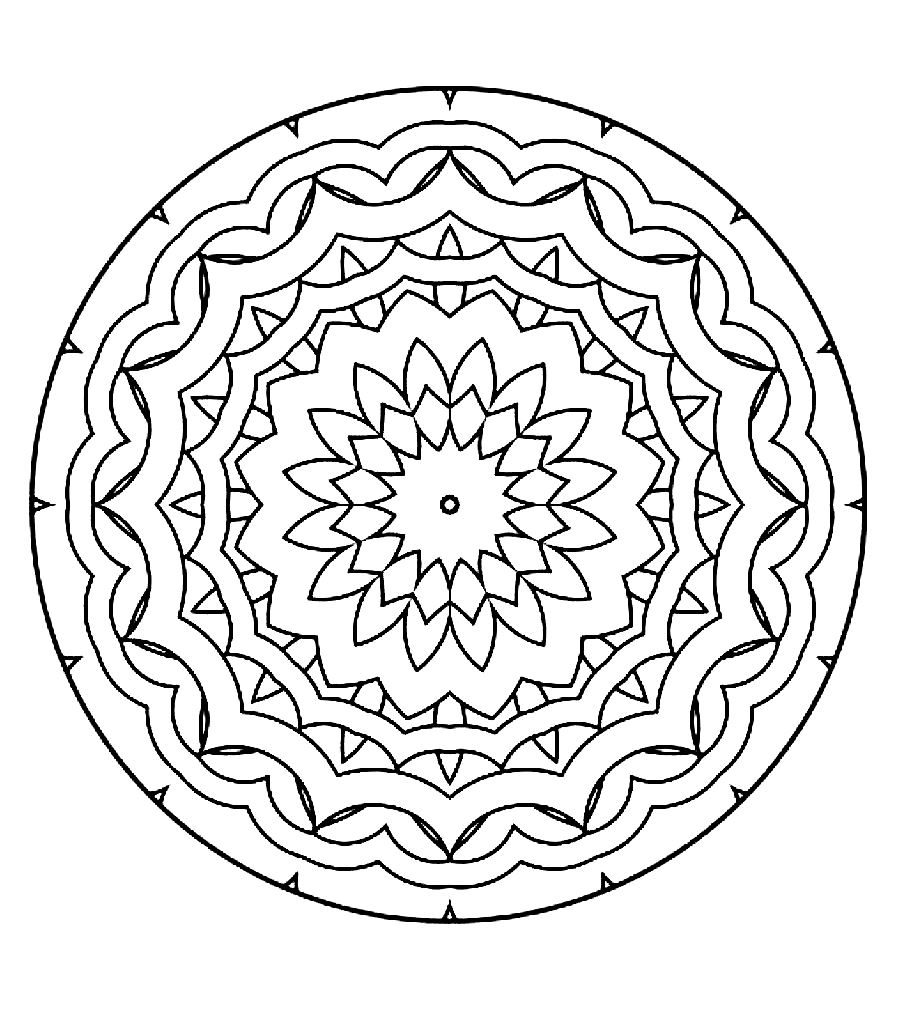 free mandalas to print and color mandalas printable coloring pages coloring home print to free mandalas color and