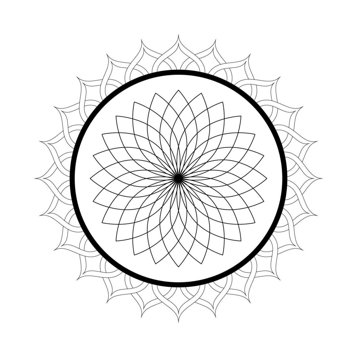 free mandalas to print and color simple inspiring mandala zen anti stress mandalas and to color free mandalas print