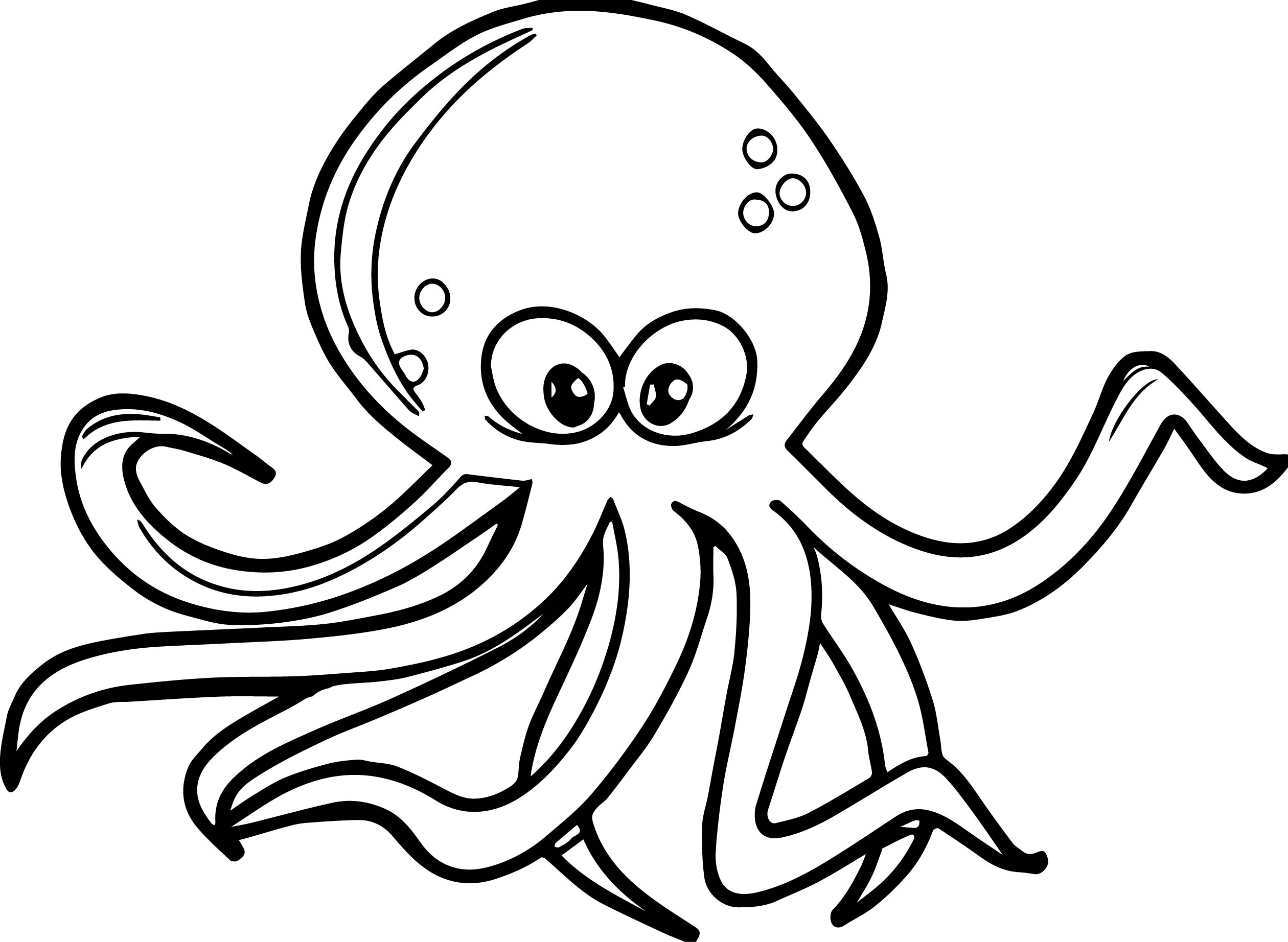 free octopus coloring pages free printable octopus coloring pages for kids coloring octopus pages free