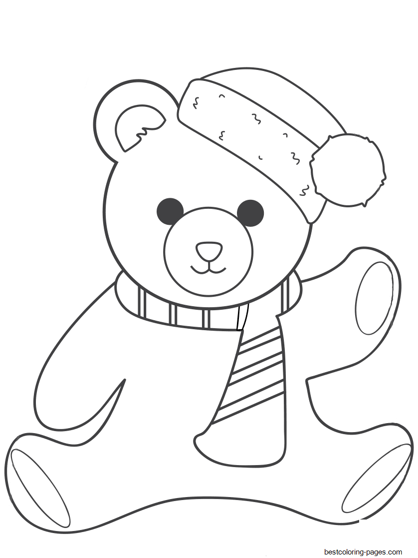 free pictures of teddy bears to colour get this teddy bear coloring pages free 716bd of bears teddy colour free pictures to