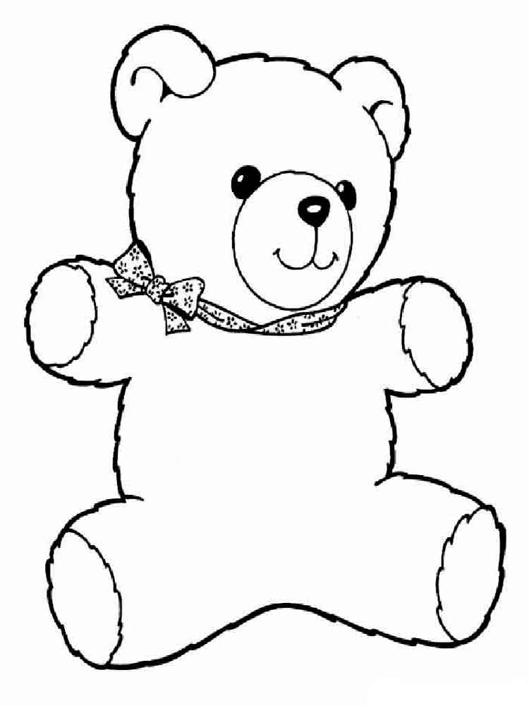 free pictures of teddy bears to colour teddy bear coloring pages for kids to of pictures colour teddy bears free