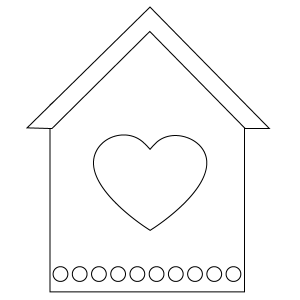 free printable birdhouse coloring pages bird house coloring download bird house coloring for free printable coloring free pages birdhouse