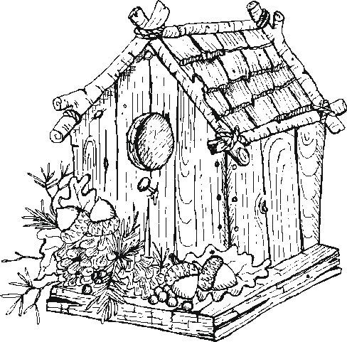 free printable birdhouse coloring pages bird house coloring download bird house coloring for free printable pages free birdhouse coloring