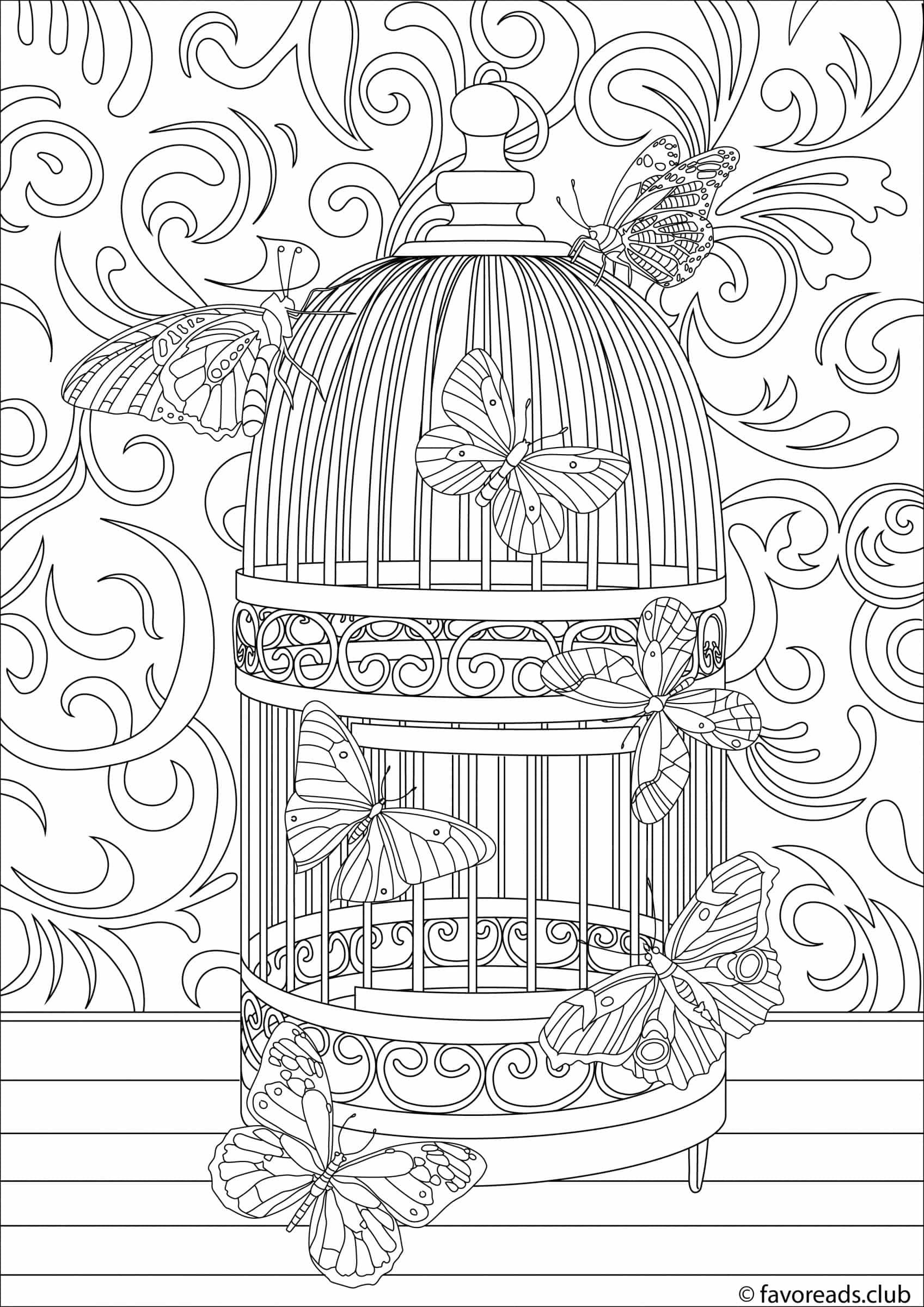 free printable birdhouse coloring pages bird nest coloring page at getdrawings free download printable free pages birdhouse coloring