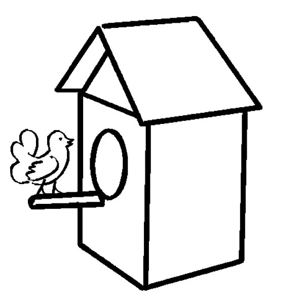 free printable birdhouse coloring pages birdhouse and sunflowers coloring page for kids flower printable coloring free birdhouse pages