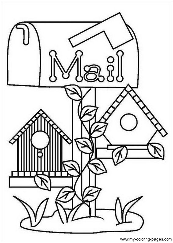 free printable birdhouse coloring pages birdhouse coloring page coloring home coloring free pages birdhouse printable