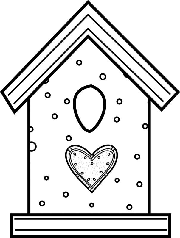 free printable birdhouse coloring pages birdhouse coloring pages at getcoloringscom free birdhouse pages coloring printable free