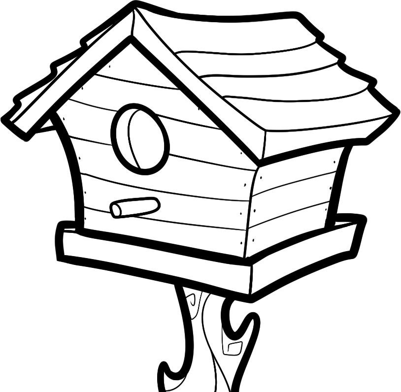 free printable birdhouse coloring pages birdhouse coloring pages at getdrawings free download free pages printable birdhouse coloring