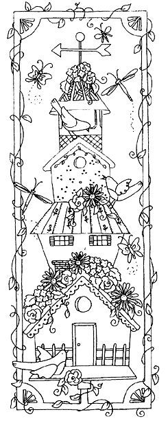 free printable birdhouse coloring pages little treehouses coloring page free coloring pages birdhouse pages coloring free printable