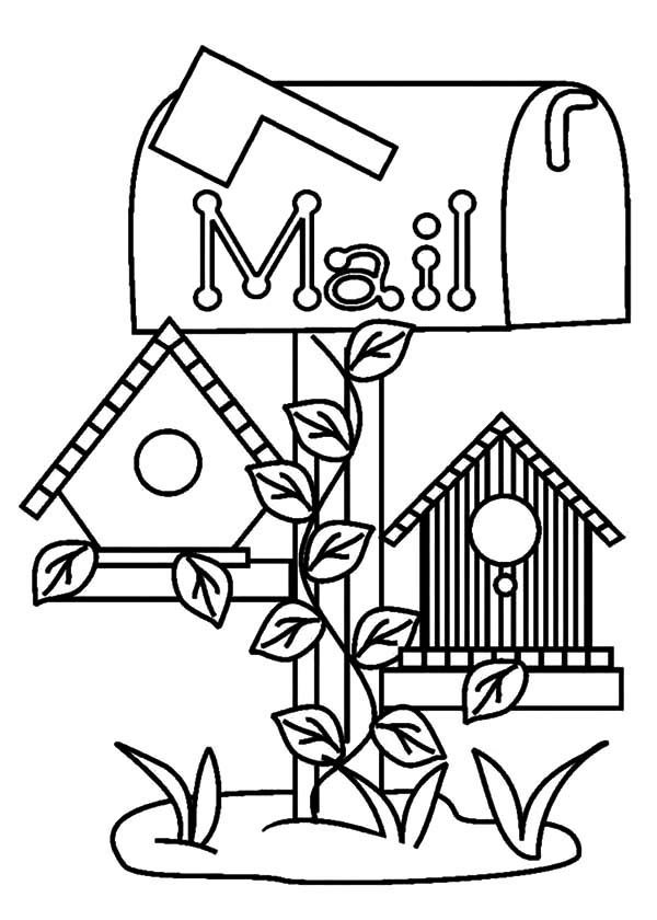 free printable birdhouse coloring pages primitive coloring pages at getcoloringscom free printable free coloring pages birdhouse
