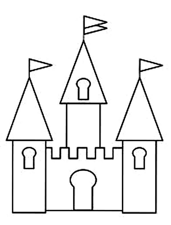free printable castle coloring pages free printable castle coloring pages for kids printable free pages castle coloring