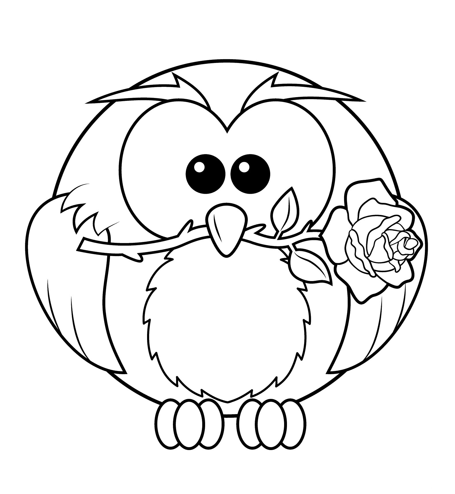 free printable coloring pages of owls christmas owl with gift boxes coloring page free of pages owls free printable coloring