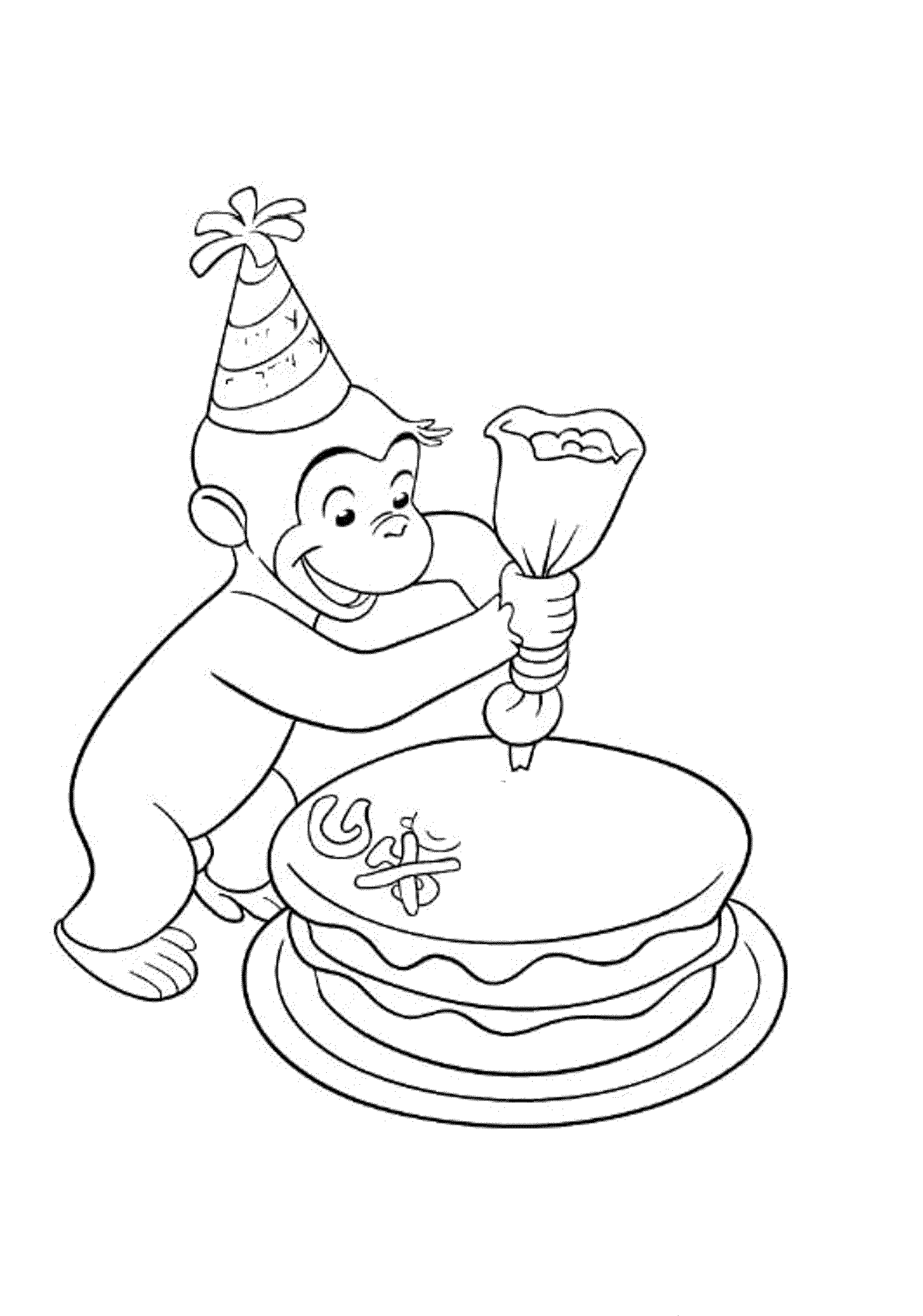 free printable curious george coloring pages free printable curious george coloring pages for kids george printable free pages curious coloring