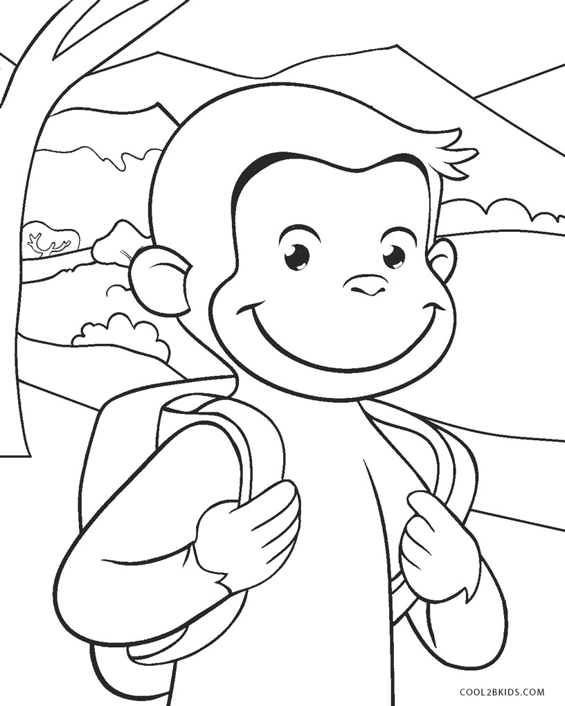 free printable curious george coloring pages free printable curious george coloring pages printable pages george free coloring curious