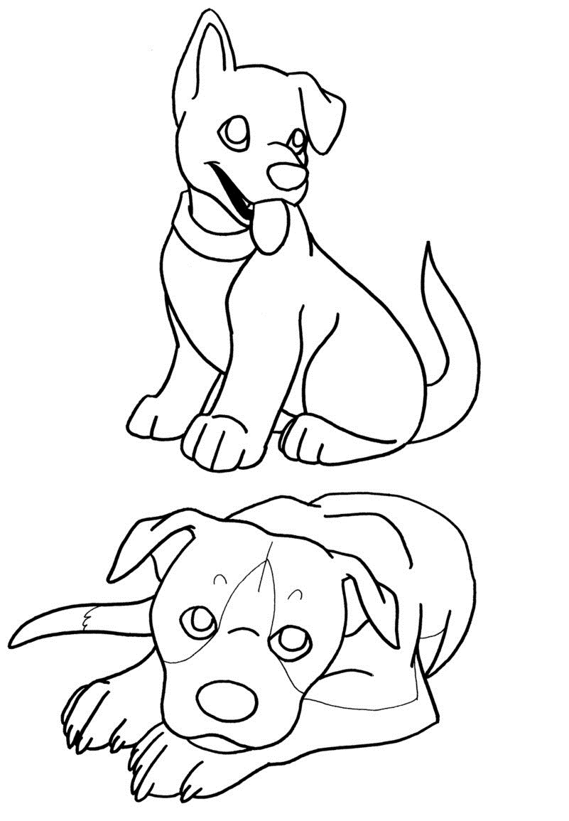 free printable dog coloring pages free printable puppies coloring pages for kids pages coloring free dog printable