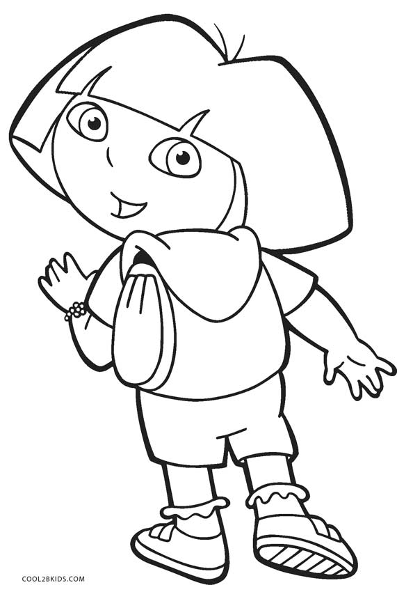 free printable dora coloring pages dora the explorer coloring pages coloring pages dora pages printable free coloring