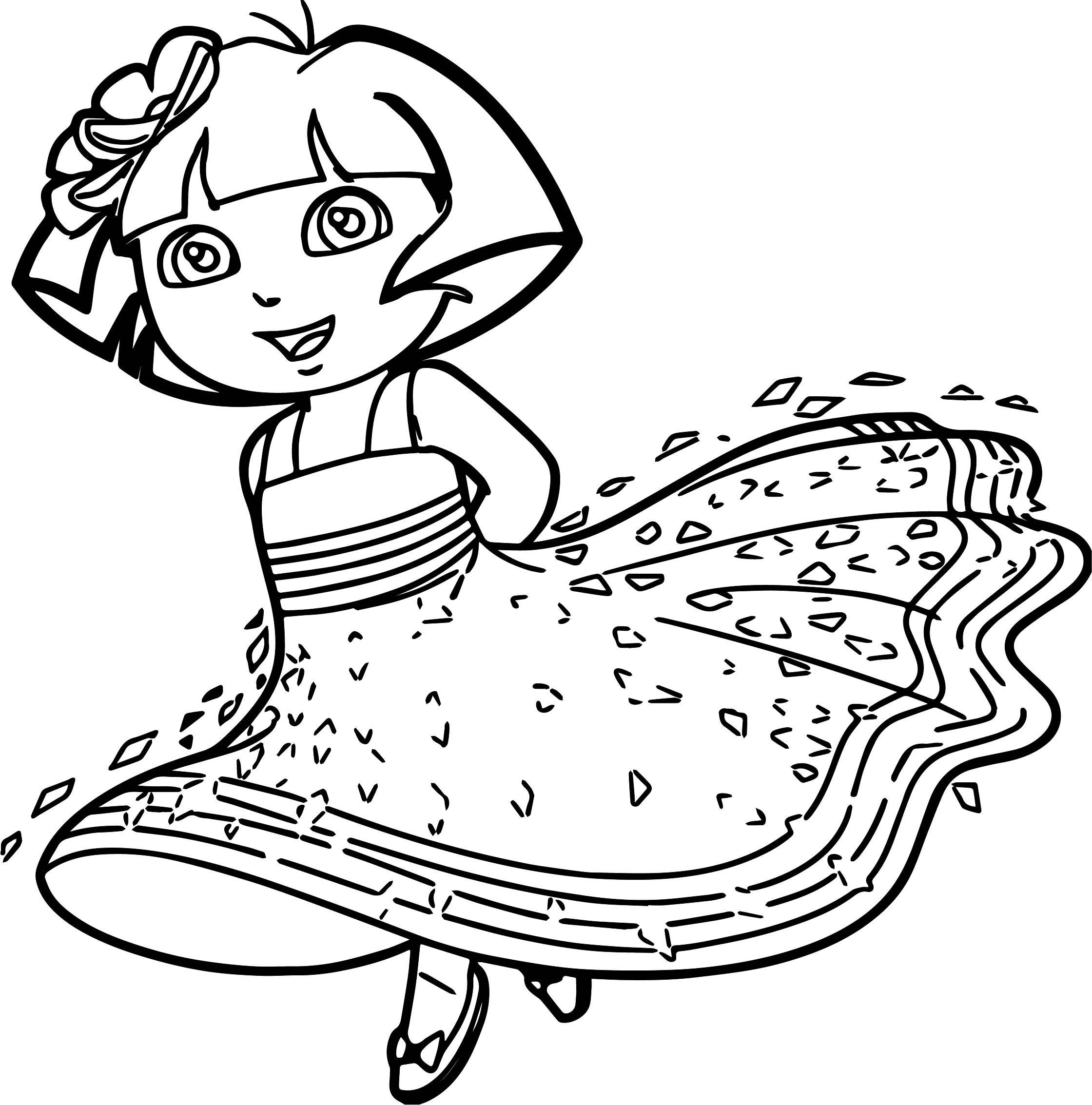 free printable dora coloring pages top 20 printable dora the explorer coloring pages online coloring free pages dora printable