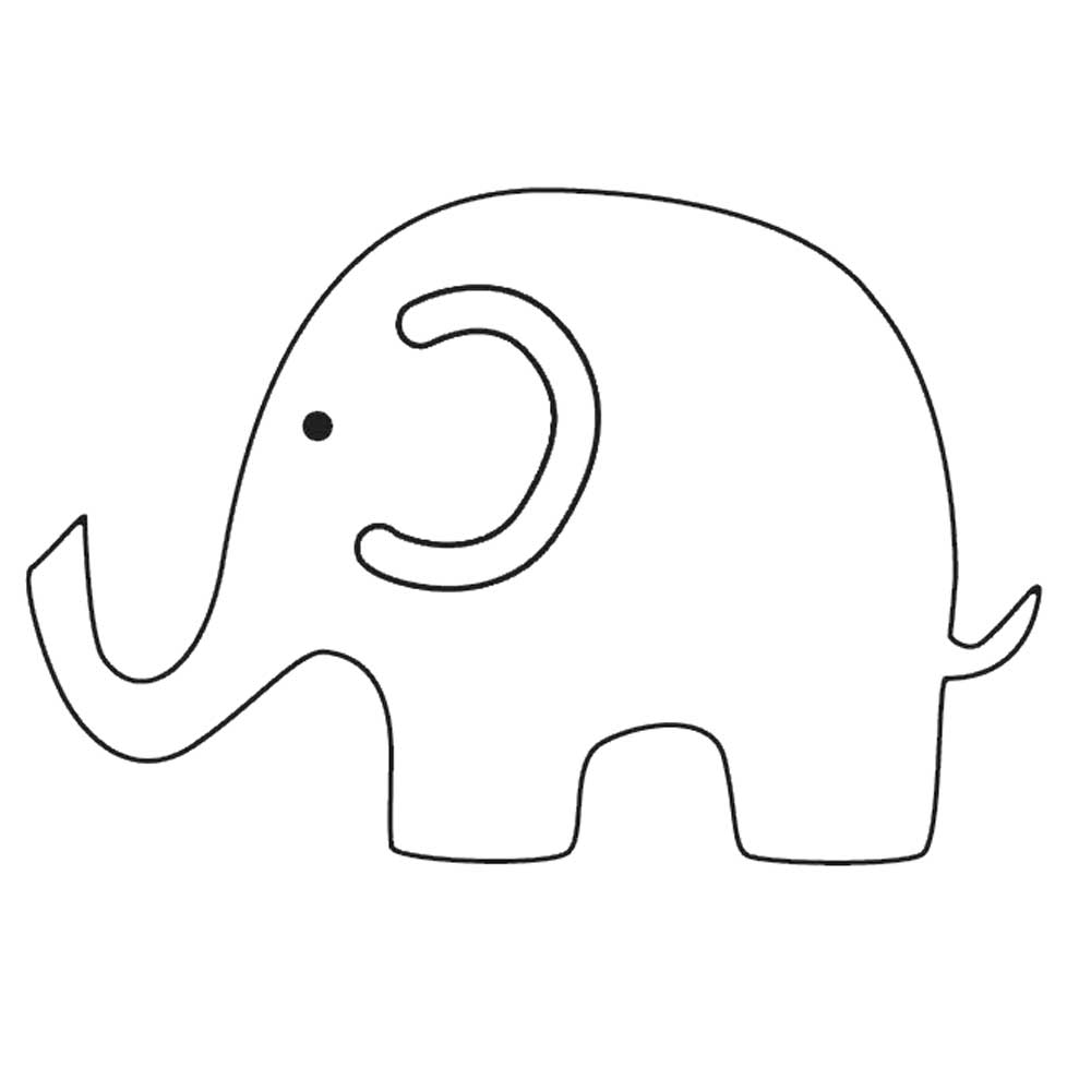 free printable elephant pictures baby elephant coloring pages animal free printable pictures elephant